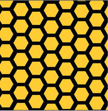 Vector illustration of pattern honeycombs Vector