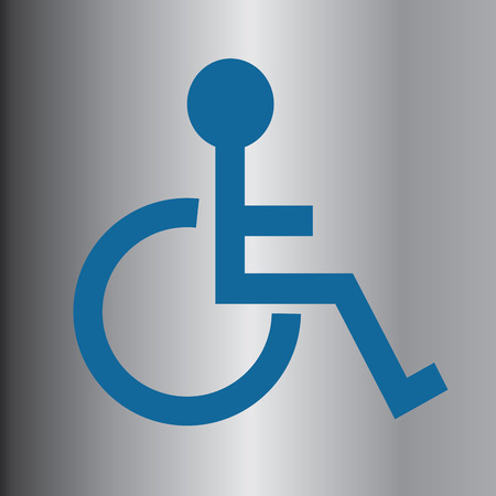 Disabled icon sign vector Vector
