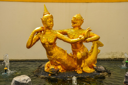 filming point of view: Thai art Stock Photo