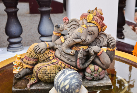 god ganesh: Hindu God Ganesh Stock Photo