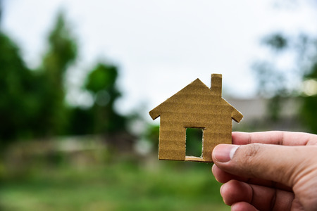vacant land: The concept of building houses on vacant land. For me and family