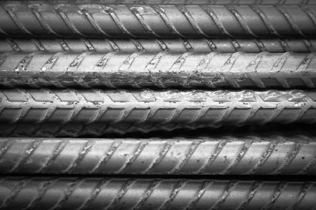 converge: Steel bars closeup background