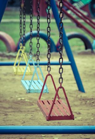 Swing-set at Playground