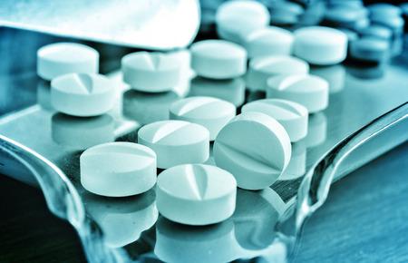 Medication and pills Standard-Bild