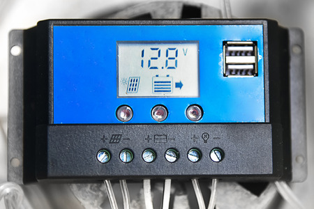solarenergy: Solar Panel Charge Controller