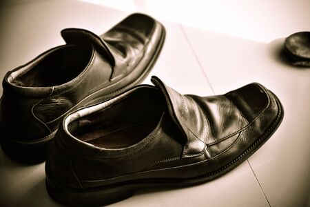 Clean Scrubber Leather shoes