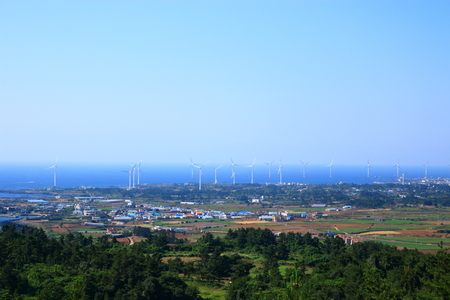 It is the scenery which I saw from Jeju
