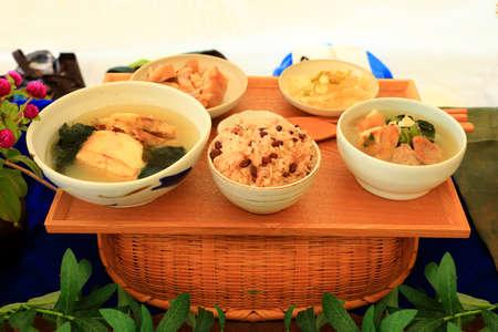 delicious traditional Korean food