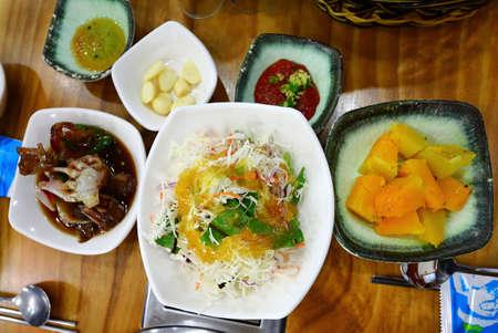 It is a delicious traditional Korean food Foto de archivo