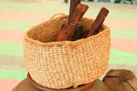 It is a kitchen utensil used when making dishes. Stock fotó
