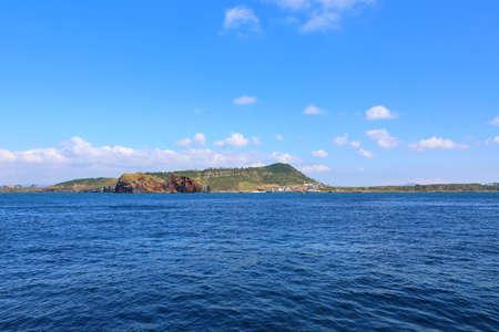 scenery of Chagwido, a beautiful island in Jeju.