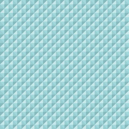 Seamless Pattern Square Diamonds And Pyramids Turquoise