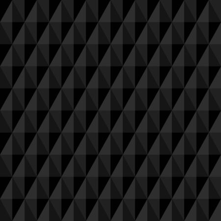 Square Seamless Pattern Big Vertical Diamonds Black 일러스트
