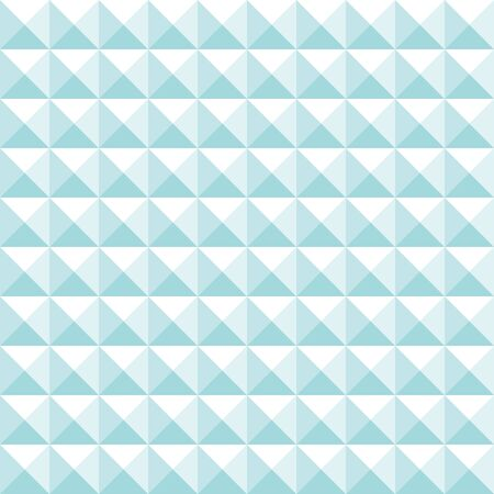 Seamless Pattern Straight Big Pyramid Turquoise And White