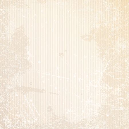 Square Retro Paper Background Vertical Lines Scratches And Stains Beige