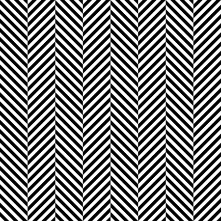 Big Seamless Pattern Herringbone Black And White