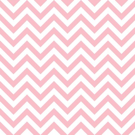 Seamless pattern big chevron pink and white lines Vettoriali