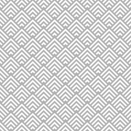 Seamless Pattern Graphic Corners Stripes Gray And White