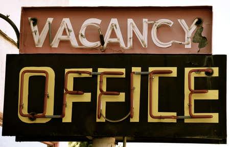 old sign: Old Motel Sign