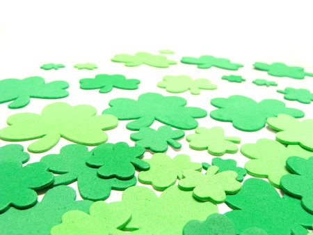 St Patricks Day shamrock background