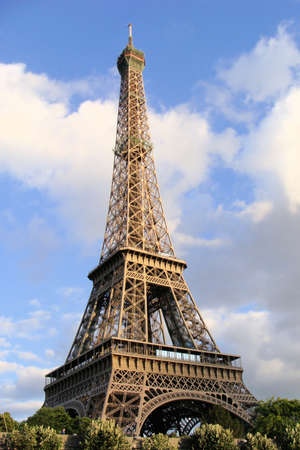 iconic: The iconic symbol of Paris, the Eiffel Tower  Stock Photo