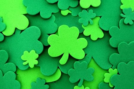 st: St Patricks Day shamrock background