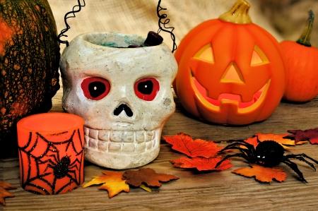 decor: Halloween and autumn decor
