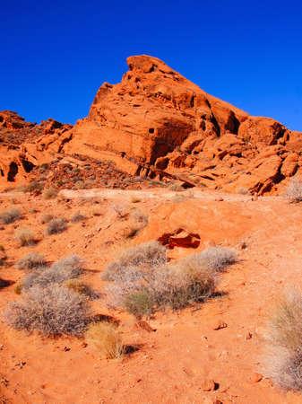 nevada: Vibrant red desert, Valley of Fire State Park, Nevada