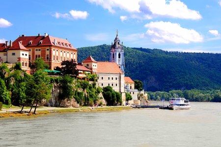 Village of Durnstein along the Danube, Wachau Valley, Austria