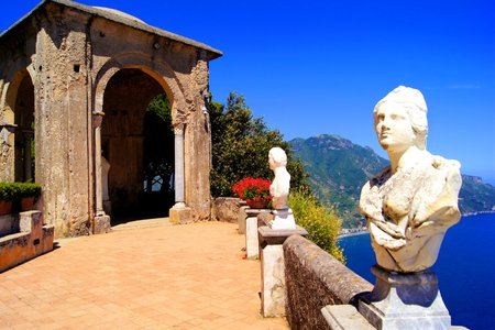 amalfi: Terrace of Infinity above the Amalfi Coast, Ravello, Italy