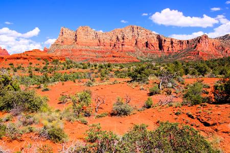 sedona: Beautiful red mountains of Sedona, Arizona, USA Stock Photo