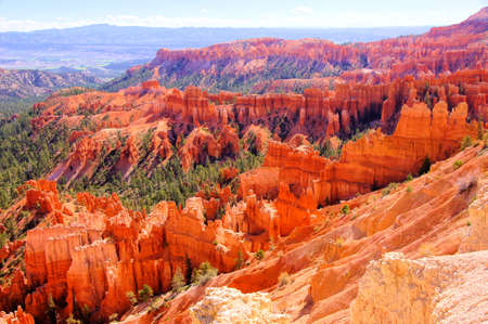 The vibrant hues of Bryce Canyon National Park, USA photo