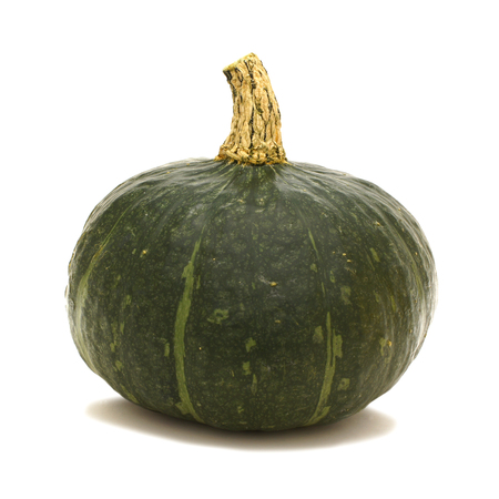 buttercup: Single Buttercup squash over a white background Stock Photo