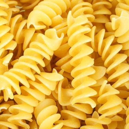 rotini: Fondo lleno de pasta rotini seco