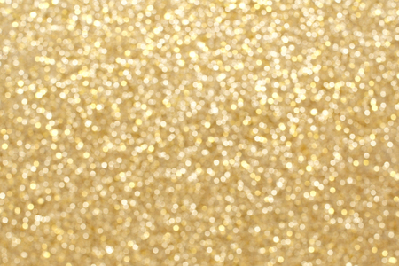 Gold twinkling light background for Christmas or New Years Eve