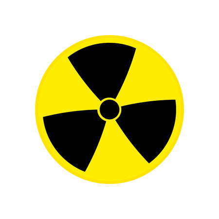 toxic Nuclear sign vector eps10. Radioactive contamination symbol. Radioactive contamination symbol. Imagens - 120265639