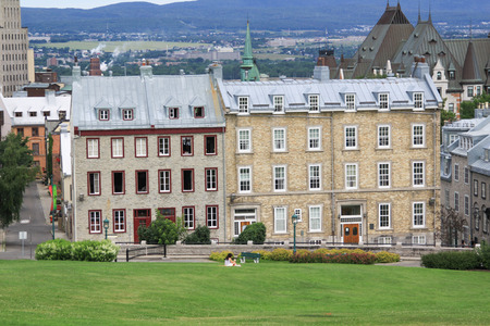 Beautiful building in Quebec city canada