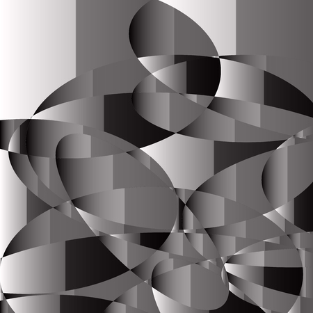 Abstract background in black and white , vector illustration