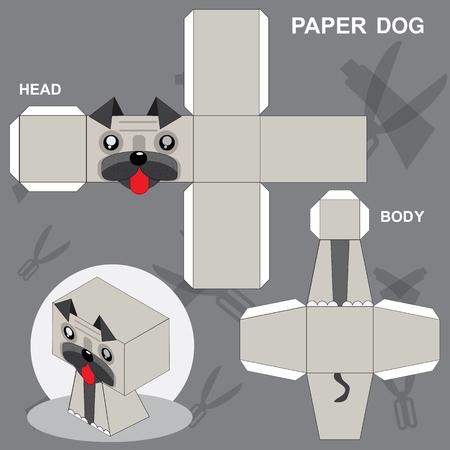 Paper DogTemplate