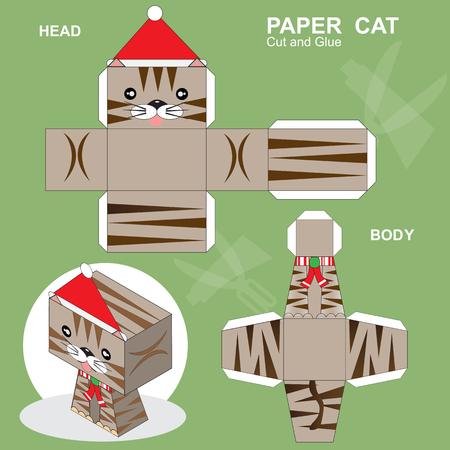 Paper Cat Template
