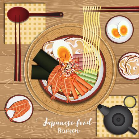 Japanese Food Set,Ramen noodle