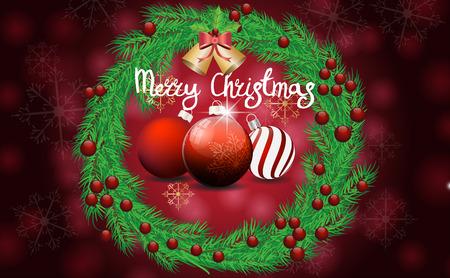 Christmas background Imagens - 117728410