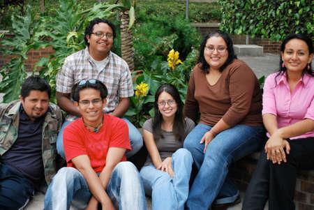 Hispanic college students photo