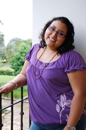 donne obese: Bella donna ispanica