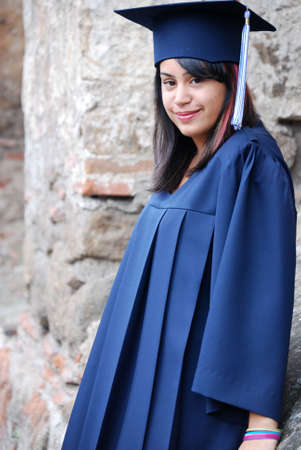 Hispanic graduate photo