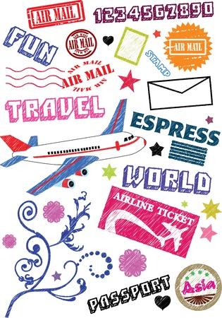여행: 여행 아이콘