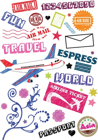 Travel icon Stock Vector - 11343538