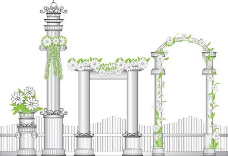 architectural elements: Arco