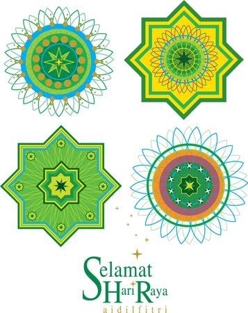 patron islamico: Patr�n Isl�mica Vectores