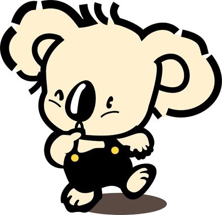 koala bear: Koala Bear Illustration
